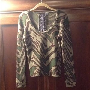 L.A.M.B Thermal Shirt Size L